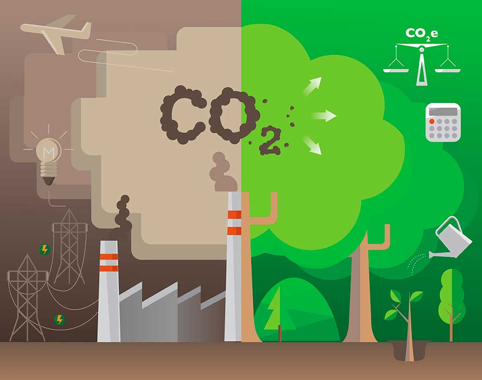 30 grandes ciudades alcanzaron su pico de emisiones de CO2